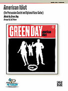Cover icon of American Idiot sheet music for percussions (full score) by Green Day