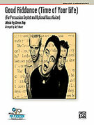 Cover icon of Good Riddance sheet music for percussions (full score) by Green Day