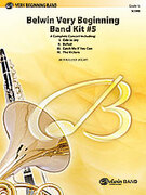 Cover icon of Belwin Very Beginning Band Kit #5 (COMPLETE) sheet music for concert band by Jack Bullock, Paul Cook, Lew Davison and Jerry Burns, beginner concert band