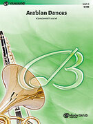 Cover icon of Arabian Dances sheet music for concert band (full score) by Roland Barrett