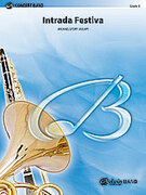 Cover icon of Intrada Festiva sheet music for concert band (full score) by Michael Story
