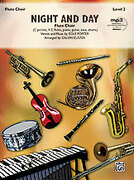 Cover icon of Night and Day (COMPLETE) sheet music for flute by Cole Porter and Calvin Custer