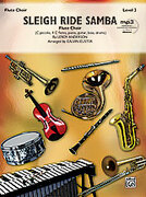 Cover icon of Sleigh Ride Samba (COMPLETE) sheet music for flute by Leroy Anderson and Calvin Custer