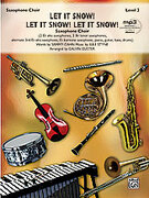 Cover icon of Let It Snow! Let It Snow! Let It Snow! (COMPLETE) sheet music for saxophone by Jule Styne, Sammy Cahn and Calvin Custer, intermediate