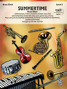 Cover icon of Summertime (COMPLETE) sheet music for brass by George Gershwin, DuBose Heyward, Dorothy Heyward, Ira Gershwin and Calvin Custer, classical score, intermediate brass