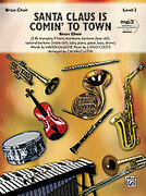 Cover icon of Santa Claus Is Comin' to Town sheet music for brass (full score) by J. Fred Coots, Haven Gillespie and Calvin Custer