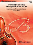 Cover icon of Belwin Beginning String Orchestra Kit #5 sheet music for string orchestra (full score) by Anonymous and Bob Cerulli, easy/intermediate skill level