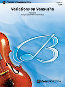 Cover icon of Variations on Vanyusha (COMPLETE) sheet music for string orchestra by Anonymous