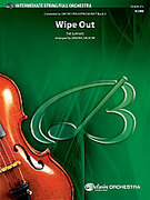 Cover icon of Wipe Out sheet music for full orchestra (full score) by The Surfaris, easy/intermediate