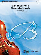 Cover icon of Variations on a Theme by Haydn sheet music for full orchestra (full score) by Johannes Brahms, classical score, intermediate skill level
