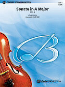 Cover icon of Sonata in A Major (COMPLETE) sheet music for string orchestra by Cesar Franck, Cesar Franck and David Reed, classical score, advanced orchestra