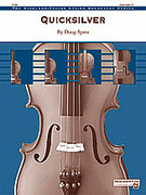 Cover icon of Quicksilver sheet music for string orchestra (full score) by Doug Spata, easy/intermediate