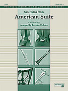 Cover icon of Selections from American Suite (COMPLETE) sheet music for full orchestra by Antonin Dvorak