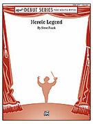 Cover icon of Heroic Legend sheet music for concert band (full score) by Steve Frank