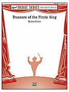 Cover icon of Treasure of the Pirate King sheet music for concert band (full score) by Leonard A. Orcino