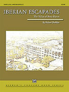 Cover icon of Iberian Escapades sheet music for concert band (full score) by Robert Sheldon