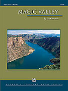 Cover icon of Magic Valley sheet music for concert band (full score) by Scott Watson, easy/intermediate