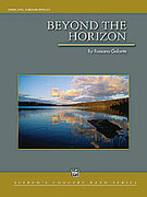 Cover icon of Beyond the Horizon sheet music for concert band (full score) by Rossano Galante