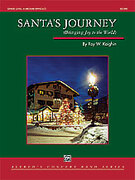 Cover icon of Santa's Journey sheet music for concert band (full score) by Roy W. Kaighin