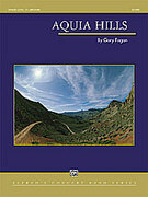 Cover icon of Aquia Hills sheet music for concert band (full score) by Gary Fagan