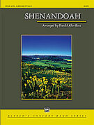 Cover icon of Shenandoah sheet music for concert band (full score) by Randol Alan Bass and Randol Alan Bass