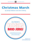 Cover icon of Christmas March (COMPLETE) sheet music for concert band by Anonymous, beginner