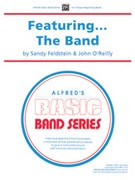 Cover icon of Featuring the Band sheet music for concert band (full score) by Sandy Feldstein