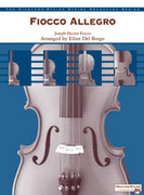 Cover icon of Fiocco Allegro sheet music for string orchestra (full score) by Joseph Hector Fiocco