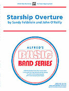 Cover icon of Starship Overture sheet music for concert band (full score) by Sandy Feldstein, beginner