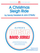 Cover icon of A Christmas Sleigh Ride sheet music for concert band (full score) by Anonymous, Sandy Feldstein and John O'Reilly, beginner