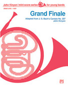 Cover icon of Grand Finale sheet music for concert band (full score) by Anonymous