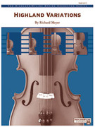Cover icon of Highland Variations (COMPLETE) sheet music for string orchestra by Anonymous, easy/intermediate