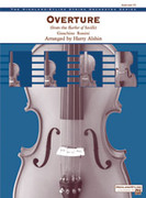 Cover icon of Overture from the Barber of Seville (COMPLETE) sheet music for string orchestra by Gioacchino Rossini and Harry Alshin, classical score, easy/intermediate