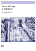 Cover icon of Grant County Celebration sheet music for concert band (full score) by Mark Williams, intermediate skill level