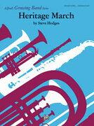 Cover icon of Heritage March sheet music for concert band (full score) by Steve Hodges, easy/intermediate concert band (full score)