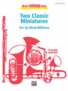 Cover icon of Two Classic Miniatures sheet music for concert band (full score) by Franz Joseph Haydn, Johann Nepomuk Hummel and Mark Williams