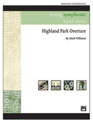 Cover icon of Highland Park Overture sheet music for concert band (full score) by Mark Williams