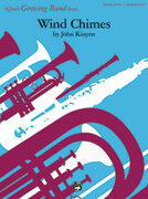 Cover icon of Wind Chimes sheet music for concert band (full score) by John Kinyon, easy/intermediate