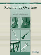 Cover icon of Rosamunde Overture, Opus 26 sheet music for full orchestra (full score) by Franz Schubert, classical score, intermediate