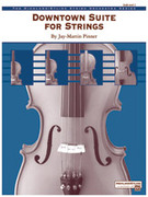 Cover icon of Downtown Suite for Strings (COMPLETE) sheet music for string orchestra by Jay-Martin Pinner, easy