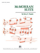 Cover icon of McMorran Suite sheet music for concert band (full score) by Barry E. Kopetz, intermediate skill level