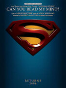 Cover icon of Can You Read My Mind? (Love Theme from Superman) sheet music for piano, voice or other instruments by John Williams and Maureen McGovern