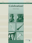 Cover icon of Celebration! sheet music for full orchestra (full score) by Richard Meyer, intermediate