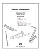 Cover icon of America, the Beautiful sheet music for Choral Pax (full score) by Samuel Augustus Ward, easy/intermediate