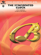 Cover icon of The Syncopated Clock sheet music for string orchestra (full score) by Leroy Anderson