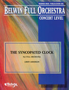 Cover icon of The Syncopated Clock sheet music for full orchestra (full score) by Leroy Anderson