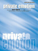 Cover icon of Private Emotion sheet music for piano, voice or other instruments by Ricky Martin