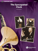 Cover icon of The Syncopated Clock (COMPLETE) sheet music for concert band by Leroy Anderson, intermediate