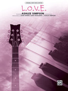 Cover icon of L.O.V.E. sheet music for piano, voice or other instruments by Ashlee Simpson, easy/intermediate piano, voice or other instruments