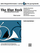 Cover icon of The Blue Rock sheet music for concert band (full score) by Dale Lauder, beginner